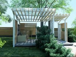 Беседки с прозрачной крышей