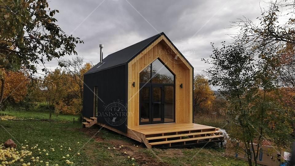 """Ярмарочный домик """"BARN HOUSE №2"""" 2х2м, фото 4"""