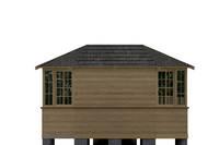 Застекленный шестигранный Павильон, фото 22