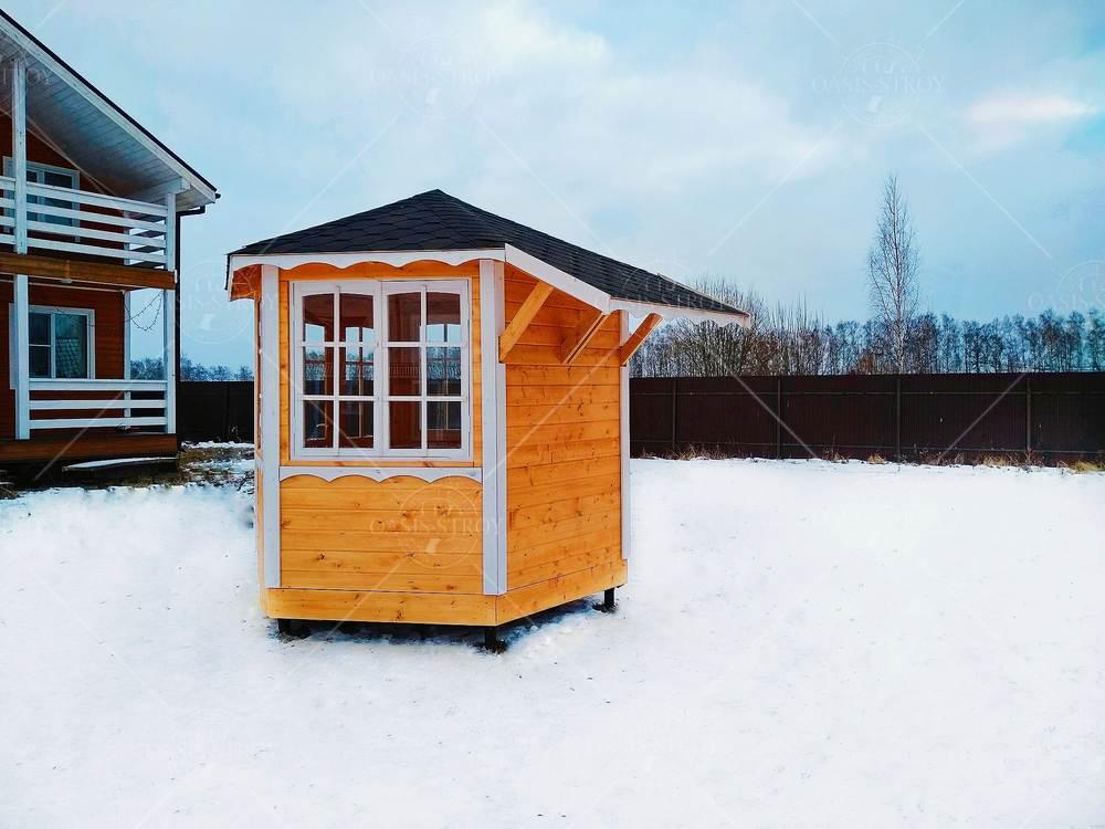 Финская беседка под барбекю для дачи d=3, фото 6