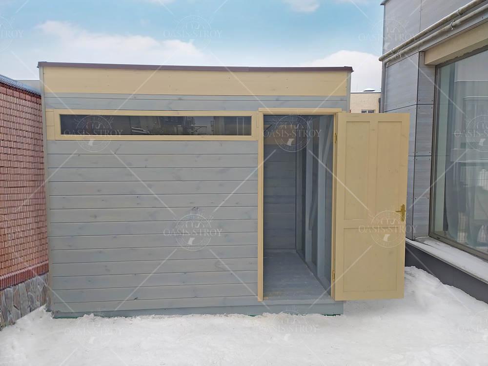 Прямоугольный хозблок 2х3 м