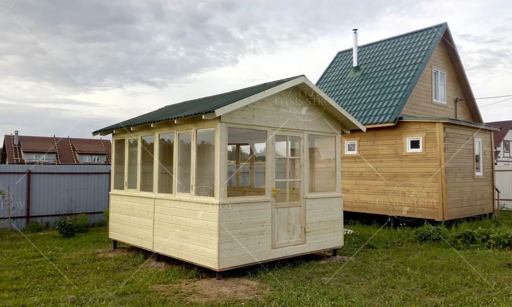 Застекленный домик 3х4м, фото 2