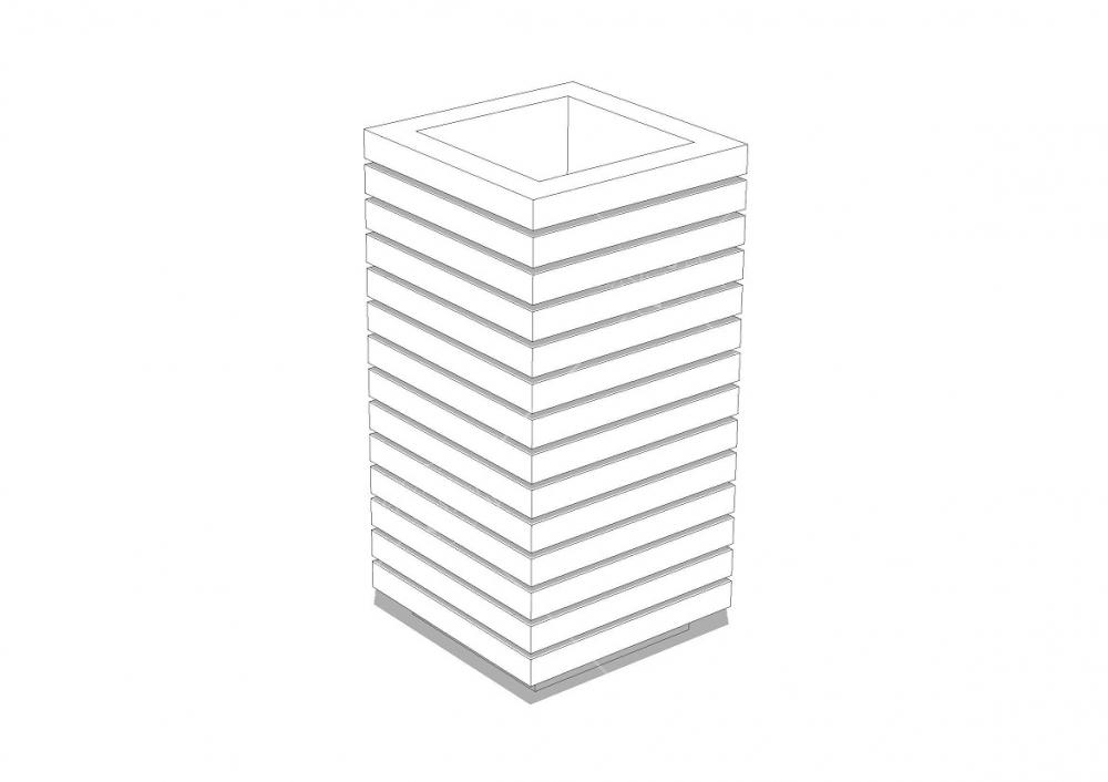 Беседка квадратная Z5 - 4х4 м, фото 4