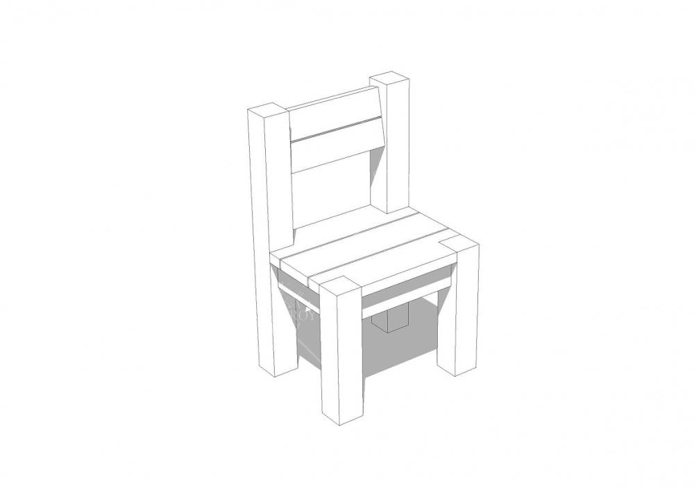 Беседка квадратная B5 - 4х4 м, фото 7