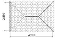Беседка прямоугольная Т18, фото 4